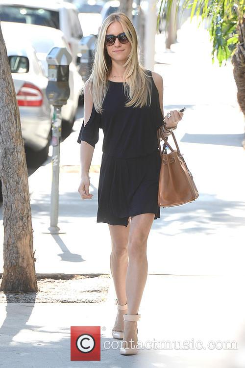 Kristin Cavallari Heads Out of an Office Building...