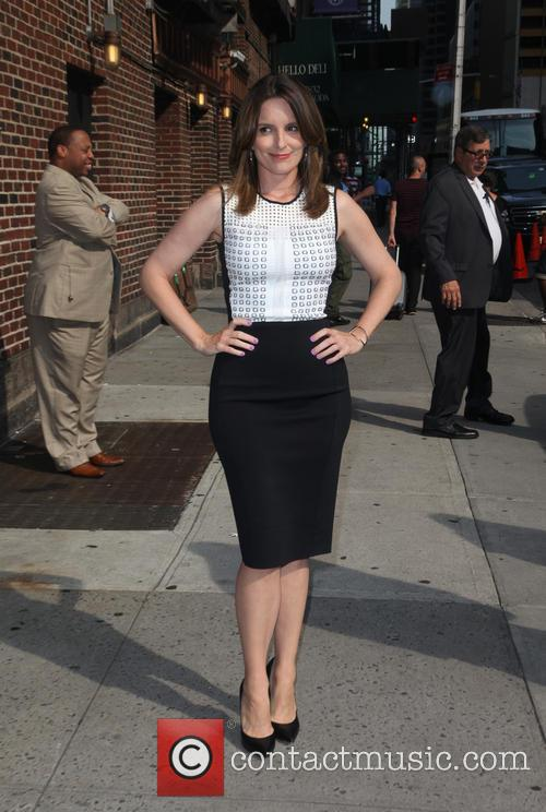 tina fey celebrities at the late show 3827732