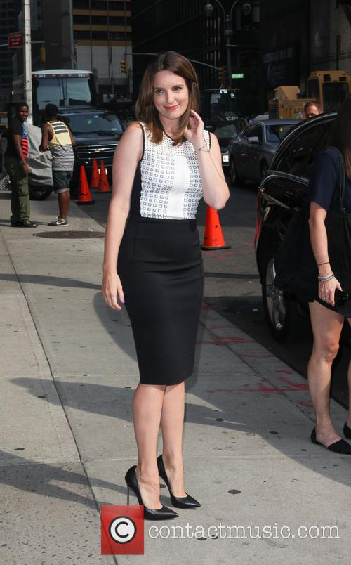 tina fey celebrities at the late show 3827736