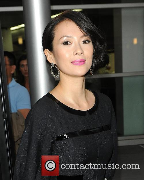 ziyi zhang los angeles screening of the 3830054