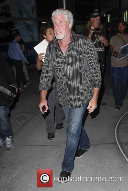 Ron Perlman leaving Arclight theatre