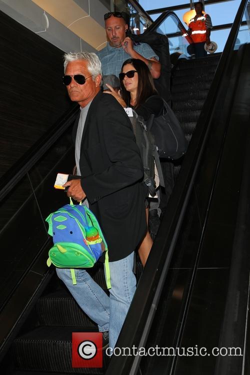Sandra Bullock and Louis Bullock 12