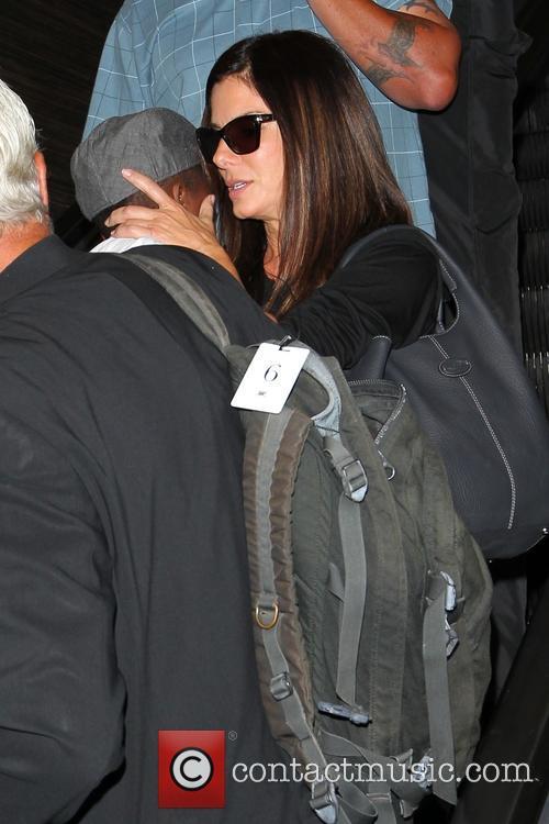 Sandra Bullock and Louis Bullock 16