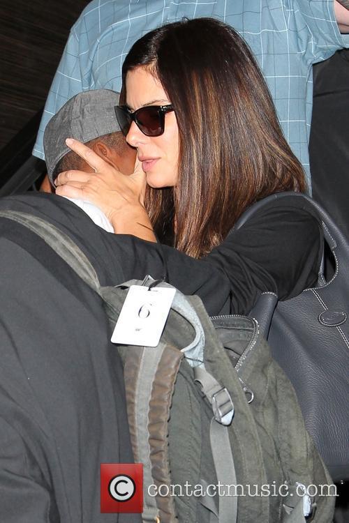Sandra Bullock and Louis Bullock 18