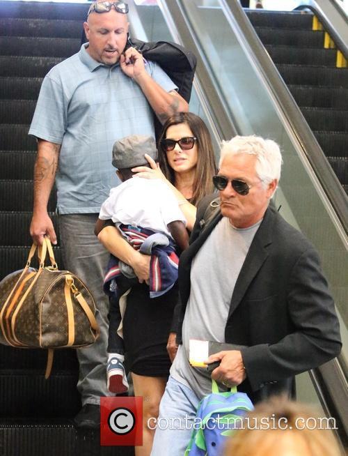 Sandra Bullock and Louis Bullock 1