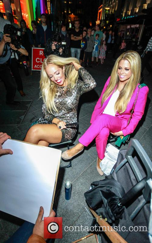 Bianca Gascoigne and Aisleyne Horgan Wallace 10