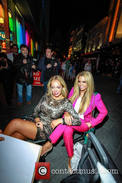 Bianca Gascoigne and Aisleyne Horgan Wallace 1