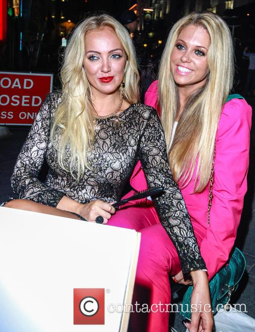 Bianca Gascoigne and Aisleyne Horgan Wallace 18