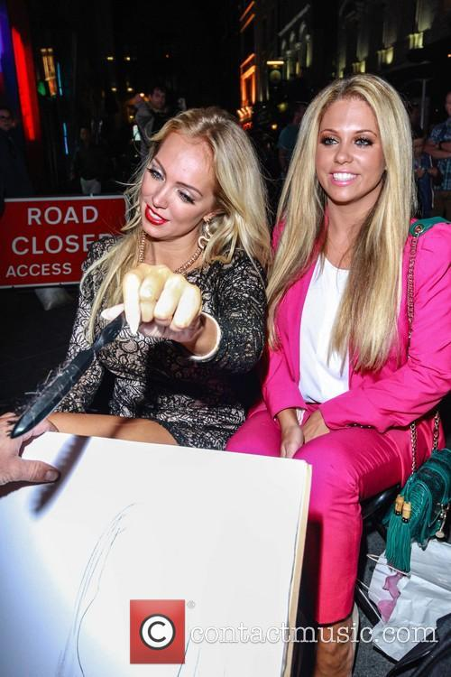 Bianca Gascoigne and Aisleyne Horgan Wallace 25