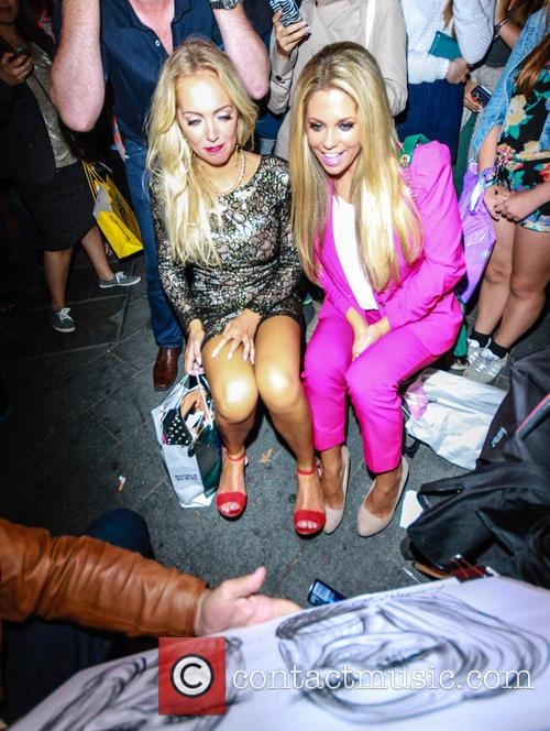 Bianca Gascoigne and Aisleyne Horgan Wallace 30