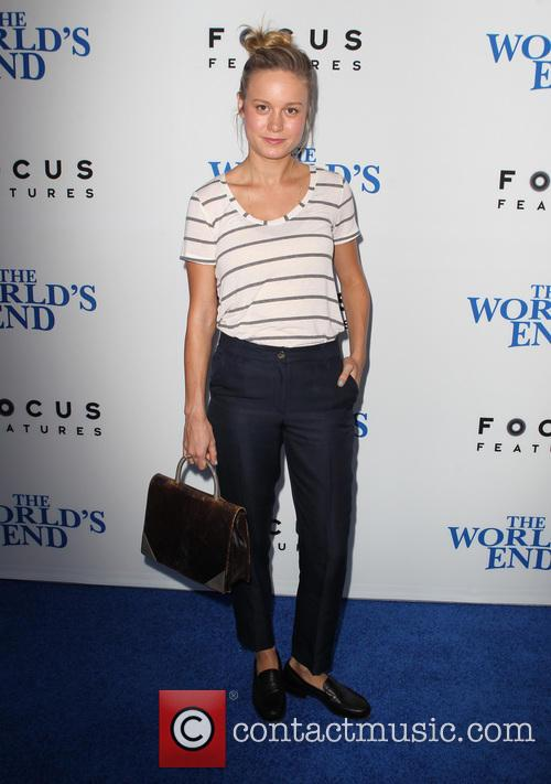 brie larson the worlds end hollywood premiere 3828457