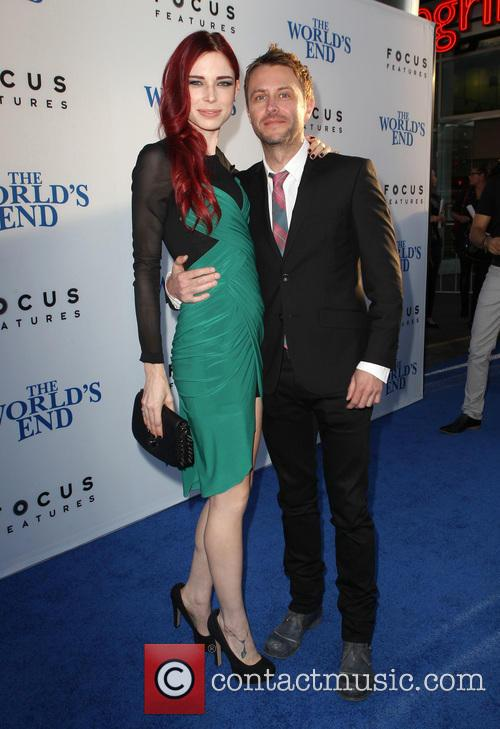 Chloe Dykstra and Chris Hardwick 4