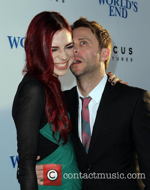 Chris Hardwick and Chloe Dykstra 1