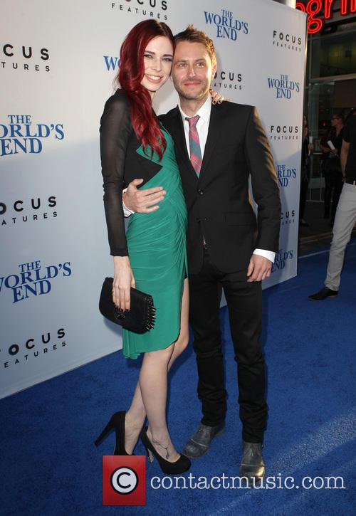 Chloe Dykstra and Chris Hardwick 7