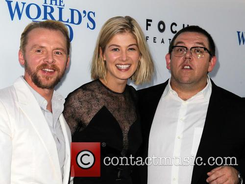 Simon Pegg, Rosamund Pike and Nick Frost 7