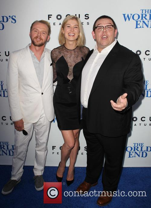 Simon Pegg, Rosamund Pike and Nick Frost 10