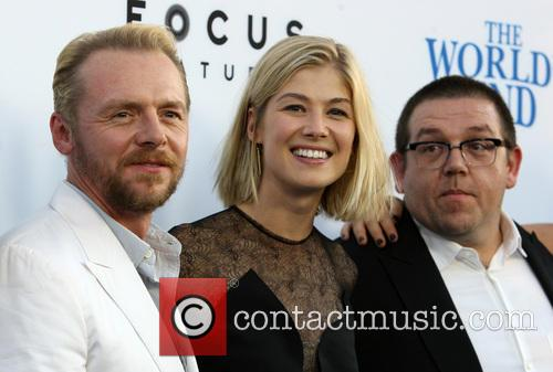 Simon Pegg, Rosamund Pike and Nick Frost 11