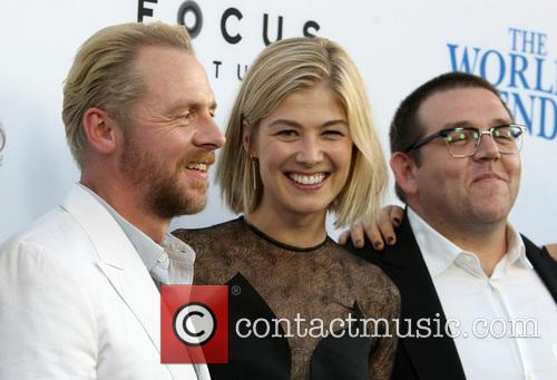 Simon Pegg, Rosamund Pike and Nick Frost 12