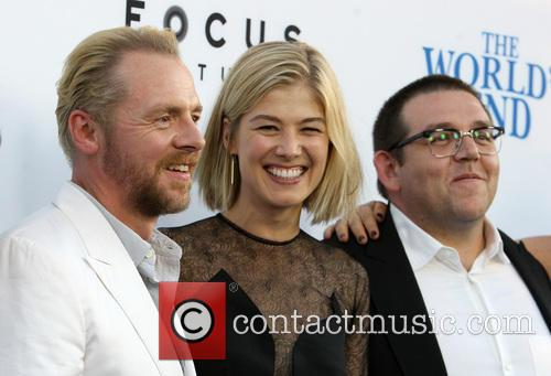 Simon Pegg, Rosamund Pike and Nick Frost 13