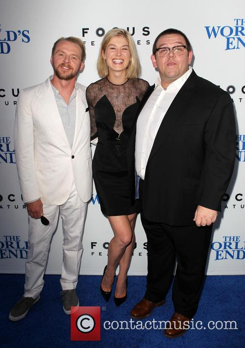 Simon Pegg, Rosamund Pike and Nick Frost 14