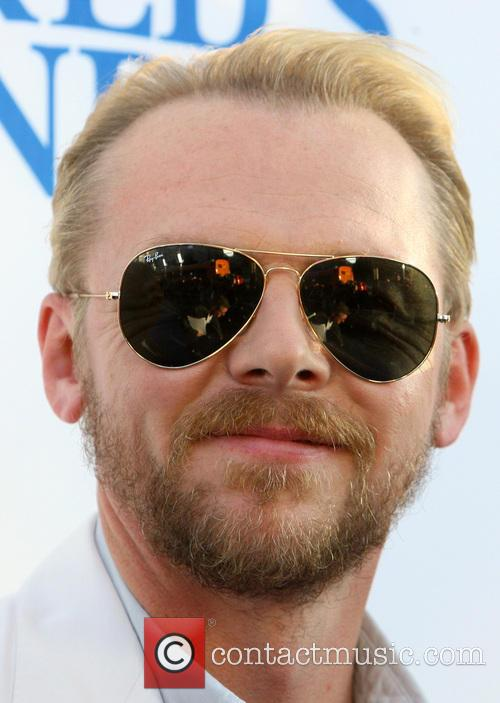 simon pegg the worlds end hollywood premiere 3828486