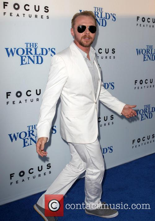 simon pegg the worlds end hollywood premiere 3828494