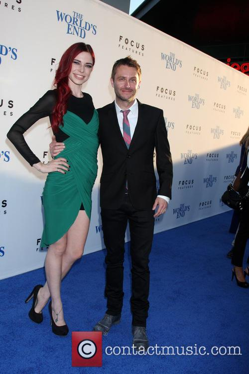 Chloe Dykstra and Chris Hardwick 3