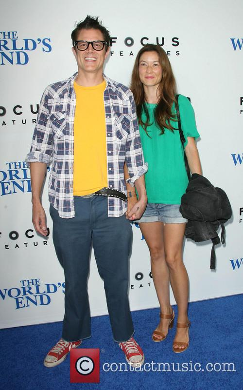 Johnny Knoxville and With Wife Naomi Nelson 1