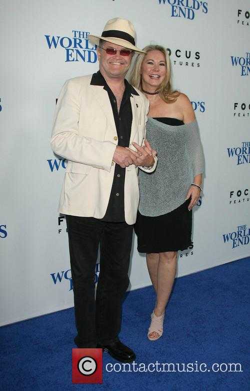 Micky Dolenz and With Wife Donna Quinter 2