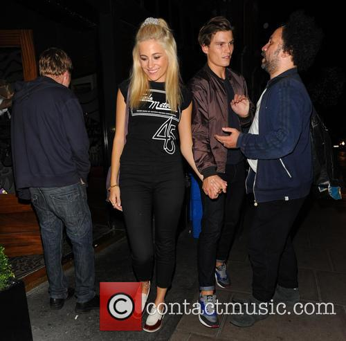 Pixie Lott, Oliver Cheshire and Atmosphere 8