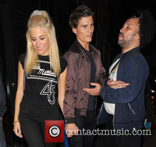Pixie Lott, Oliver Cheshire and Guest 2
