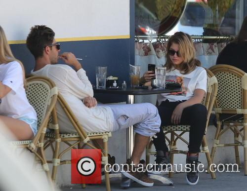 Ashley Benson has lunch at La Conversation