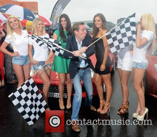 Rachel Wallace, Karena Graham, Aisling Quinn, Ryan Tubridy, Rozanna Purcell, Nadia Forde and Kerri Nicole Blanc