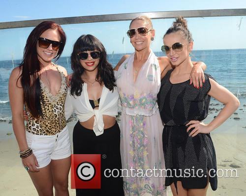 Sharna Burgess, Cheryl Burke, Kym Johnson and Karina Smirnoff 4