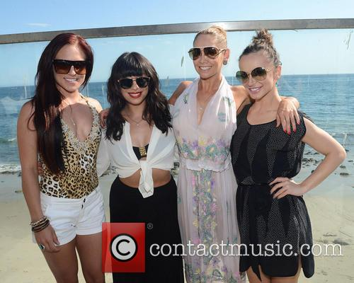 Sharna Burgess, Cheryl Burke, Kym Johnson and Karina Smirnoff 6
