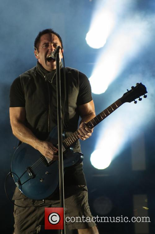 Nine Inch Nails performing
