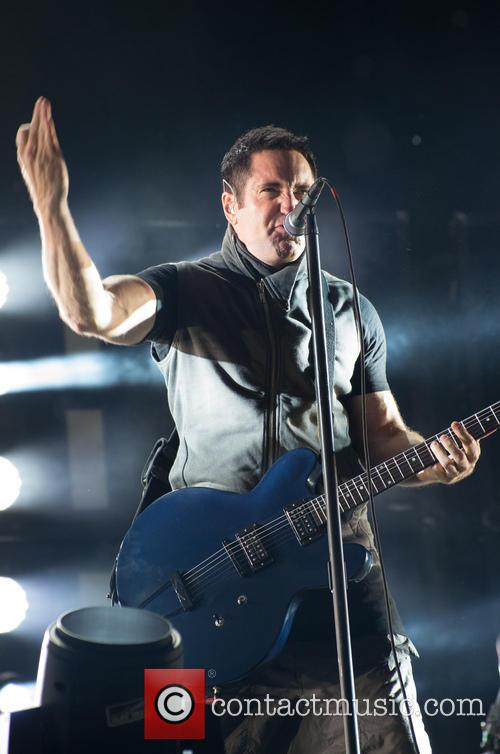 Nine Inch Nails performing in Leeds 2013