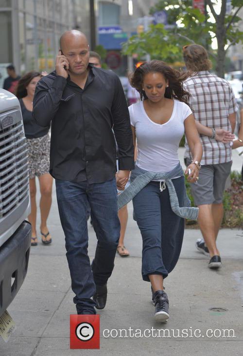 Mel B, Melanie Brown and Stephen Belafonte 5