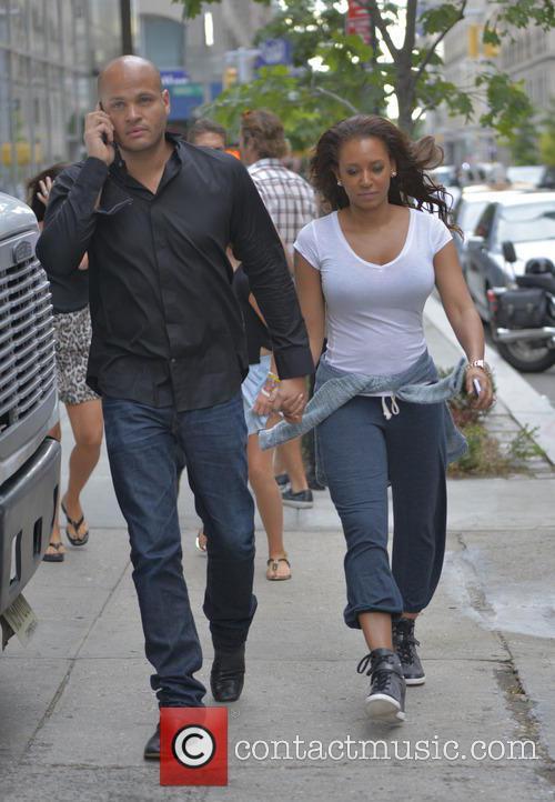 Mel B, Melanie Brown and Stephen Belafonte 7