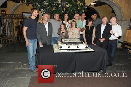 Eric Christian Olsen, R. Scott Gemmill, John Peter Kousakis, Chris O'donnell, Daniela Ruah, Linda Hunt, Renée Felice Smith, Barrett Foa, Ll Cool J and Shane Brennan 3