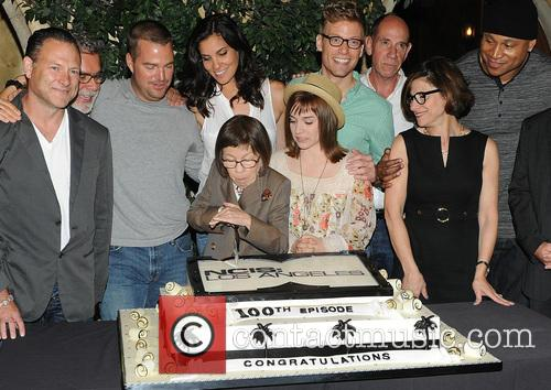 Eric Christian Olsen, R. Scott Gemmill, John Peter Kousakis, Chris O'donnell, Daniela Ruah, Linda Hunt, Renée Felice Smith, Barrett Foa, Ll Cool J and Shane Brennan 6