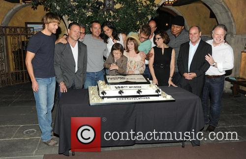 Eric Christian Olsen, R. Scott Gemmill, John Peter Kousakis, Chris O'donnell, Daniela Ruah, Linda Hunt, Renée Felice Smith, Barrett Foa, Ll Cool J and Shane Brennan 7