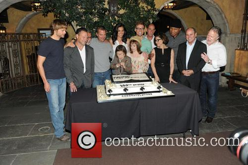 Eric Christian Olsen, R. Scott Gemmill, John Peter Kousakis, Chris O'donnell, Daniela Ruah, Linda Hunt, Renée Felice Smith, Barrett Foa, Ll Cool J and Shane Brennan 11