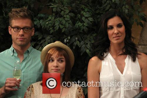 Barrett Foa, Renée Felice Smith and Daniela Ruah 1