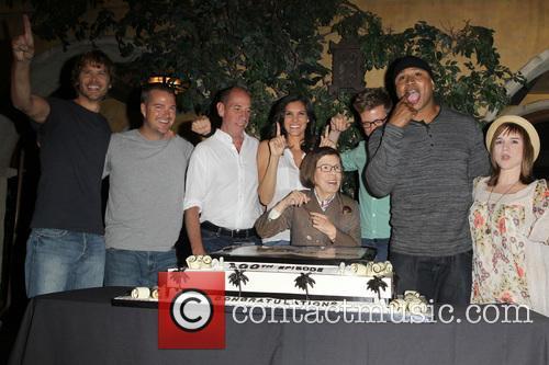 Eric Christian Olsen, Chris O'Donnell, Miguel Ferrer, Daniela Ruah, Barrett Foa, Linda Hunt, LL Cool J and Renée Felice Smith 2