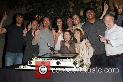 Eric Christian Olsen, R. Scott Gemmill, John Peter Kousakis, Chris O'Donnell, Daniela Ruah, Linda Hunt, Renée Felice Smith, Barrett Foa, LL Cool J and Shane Brennan 4
