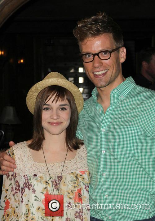 Renée Felice Smith and Barrett Foa 2