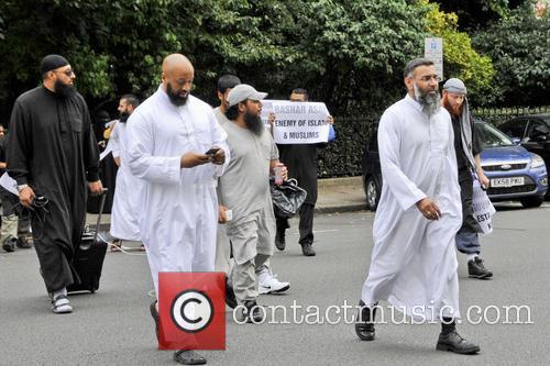 Anjem Choudary, spokesman for the Islamist group Islam4UK,...