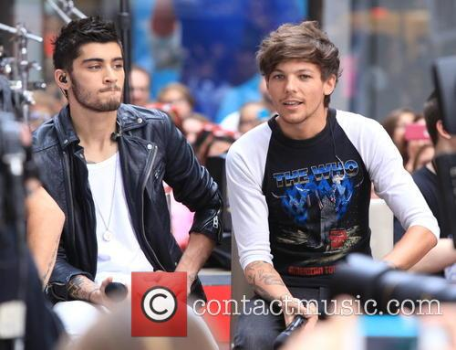 One Direction, Louis Tomlinson and Zayn Malik