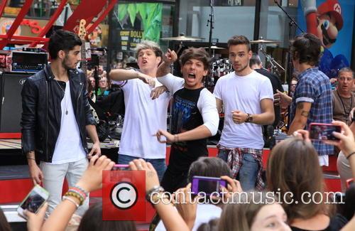 One Direction, Niall Horan, Zayn Malik, Liam Payne, Harry Styles, Louis Tomlinson, Rockefeller Plaza, Rockefeller Center